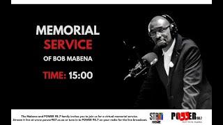 Bob Mabena memorial service on POWER 98.7