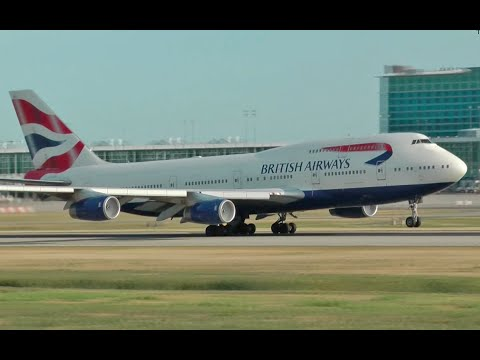 British Airways Boeing 747-400 Combo at YVR