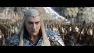 Хоббит Битва пяти воинств: ( Битва между эльфами и гномами возле Одинокой Горы )