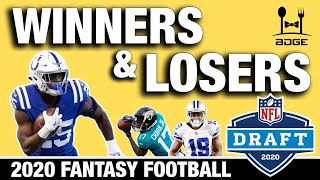 2020 Fantasy Football Winners & Losers from the NFL Draft