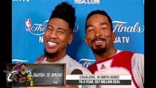 Jr Smith Returns To The Cavs On A $57 Million Contract!