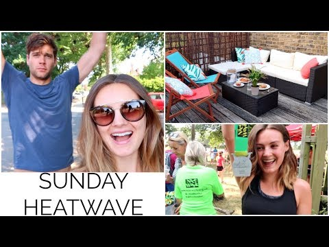 A SUNDAY IN THE HEATWAVE! | Niomi Smart