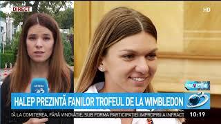Gabriela Firea organizează un eveniment pentru Simona Halep, însă nu participă