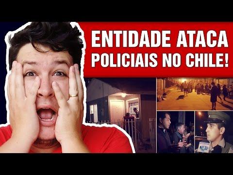 Policiais são Atacados por uma Entidade em Casa Assombrada no Chile!  (#432 - N. Assombrada)