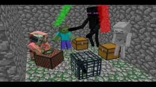 "Minecraft Animation ""Disco Club""DJ Piggy"