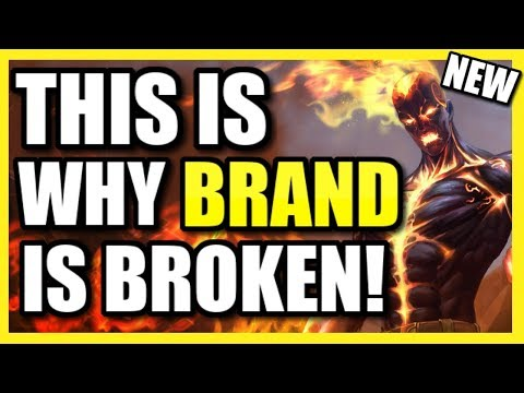 (LEGIT 1V9 AS SUPPORT!) *THIS* IS WHY BRAND SUPPORT IS DISGUSTINGLY OP! | #1 DAMAGE BRAND BUILD!