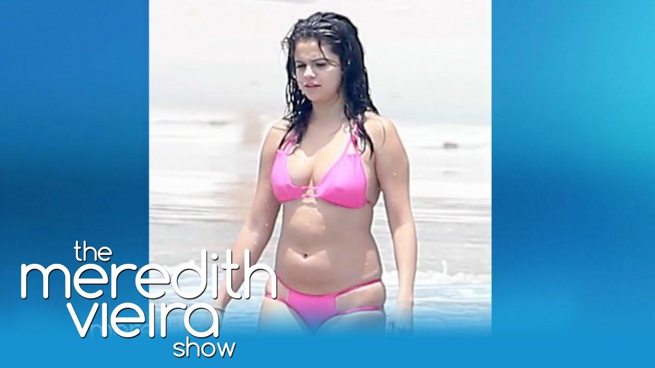 Big breated bikinis models