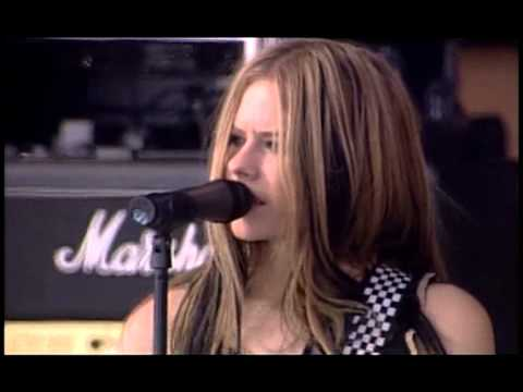 Avril Lavigne - Don't Tell Me @ Live at Rock AM Ring 2004