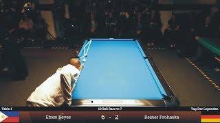 Legend Efren REYES - FUNNY Moments Compilation | LOTS OF LAUGHS