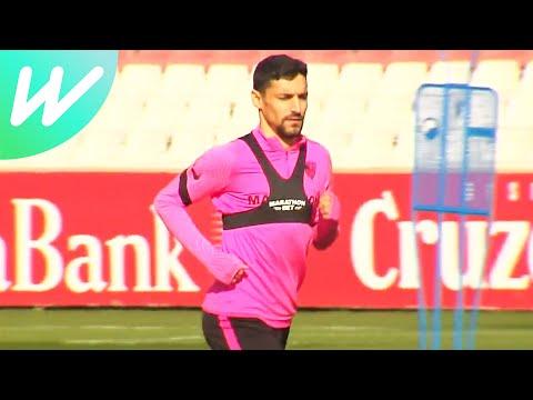 Sevilla Train Before Hosting Dortmund | Sevilla Vs Dortmund | Last 16 | Champions League | 2020/21