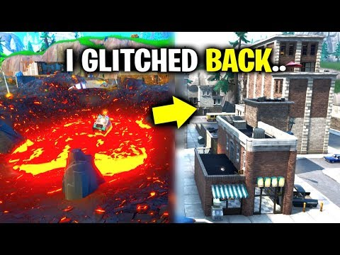 I Glitched BACK To Tilted Towers! (Fortnite)