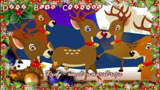 Dean Martin - Rudolph the Red Nosed Reindeer (SUBTITRAT ROMÂNĂ)