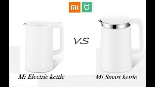 Чайник Xiaomi Mijia Electric Water Kettle.  Распаковка и обзор.