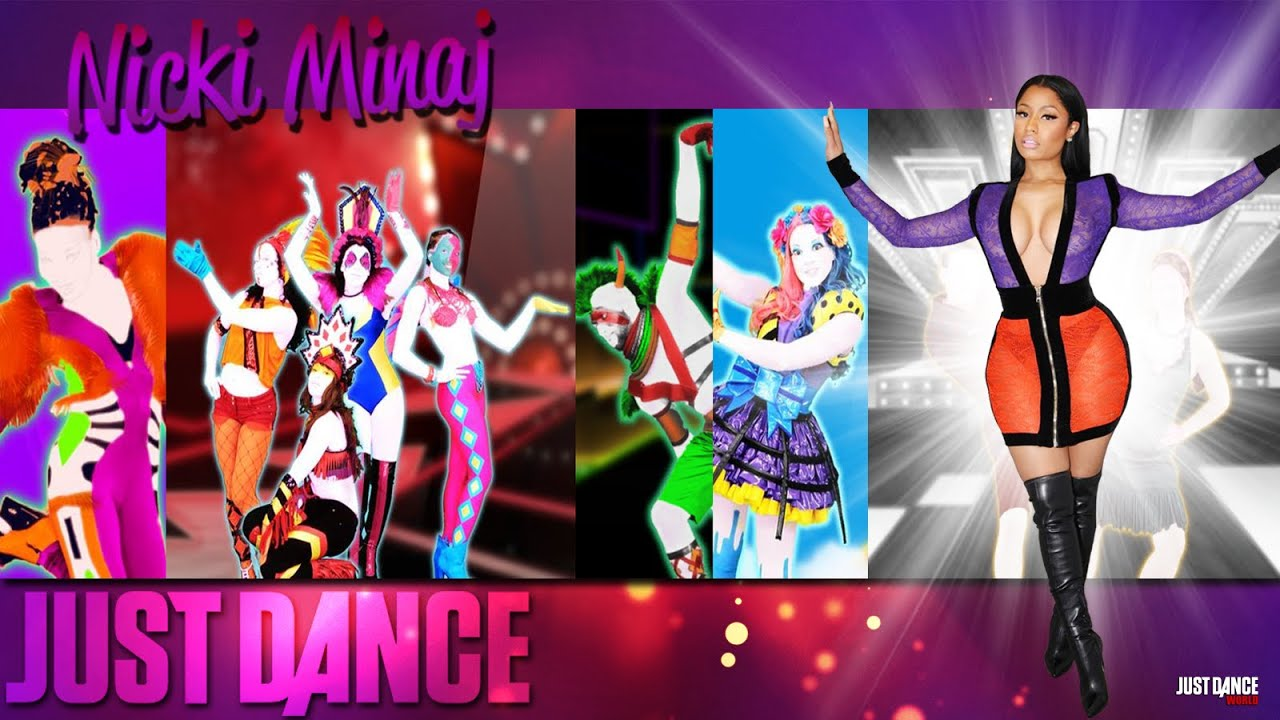 Nicki Minaj Just Dance