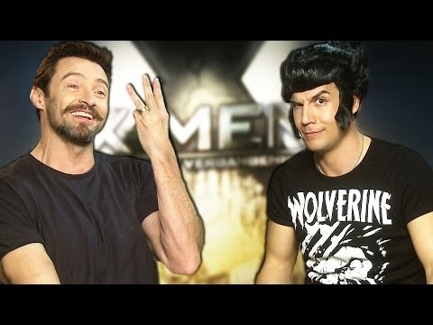 #XmenLive Hugh Jackman vs Daniele Rizzo CoinGame & WOLVERINE Song! Days of Future Past