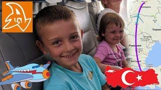 Полет над Антальей. Дорога домой из Турции. Flight over Antalya. Way home from Turkey.