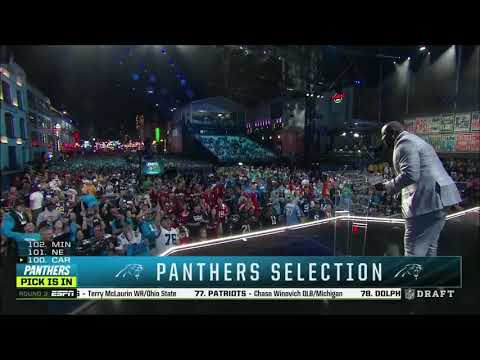 Carolina Panthers select Will Grier in NFL Draft