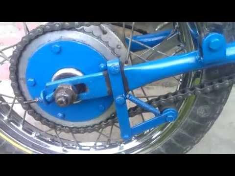 Успокоитель цепи на велосипед: устройство и виды