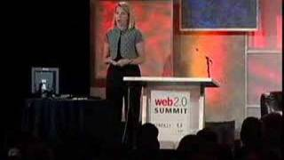 Marissa Mayer at Web 2.0 Summit 2007