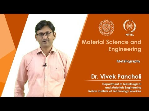 Lecture 08: Metallography