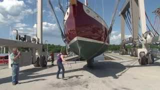Front Street Shipyard launches Sira K'tana