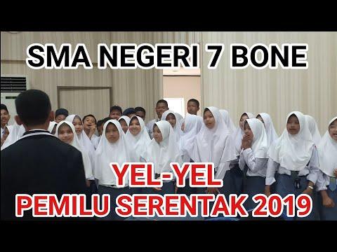 YEL-YEL PEMILU SERENTAK 2019: SMA NEGERI 7 BONE