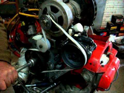 Adaptação da Bomba de Direção Hidraulica no Fusca - Video ...