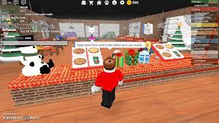 Pizza place in roblox w/Zax