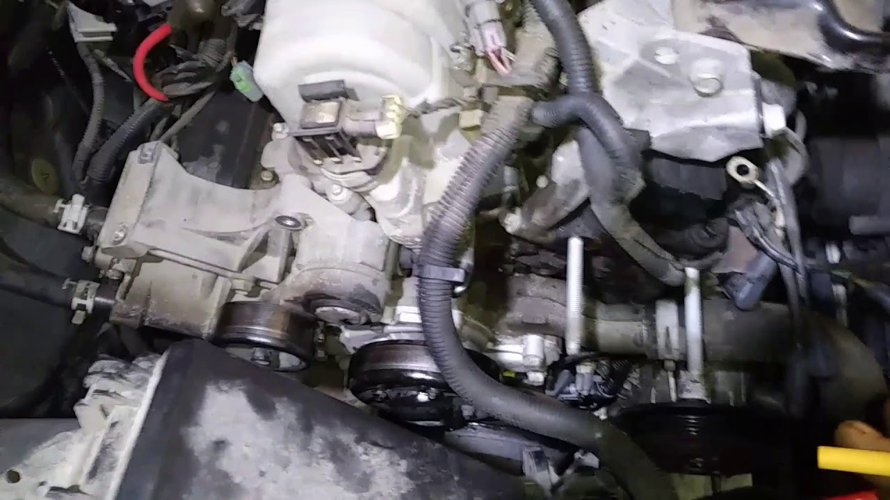Timing cover 2007 buick lacrosse 3 8