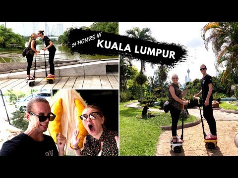 24 Hours In Kuala Lumpur! (Americans Try DUrIAN!)