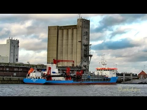 hopper dredger WERNER MÖBIUS DIFS2 IMO 9524140 Emden Saugbagger