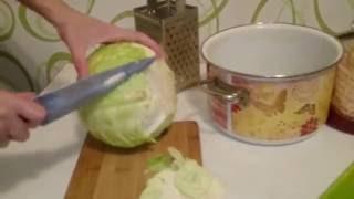 Квашеная капуста Рецепт засолки на зиму Секрет вкусного приготовления заготовки на зиму(Квашеная капуста. Вкусный рецепт Заготовки на зиму из квашеной капусты и немного о пользе квашеной капусты...., 2015-08-22T08:06:51.000Z)