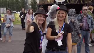Suomipop -festarit ovat varmasti yksi Jyväskylän kesän odotetuimmista musiikkitapahtumista. Videolla ensimmäisen päivän fiiliksiä tapahtumasta!