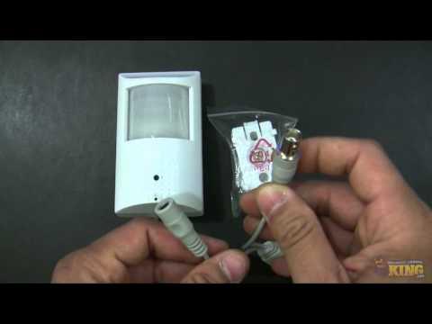 700TVL Motion Detector Hidden Camera Unboxing -  CV-LXPIR