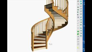 Stairdesigner,  Using Stairsoftware To Build A Spiral Staircase