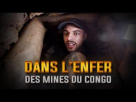J'ai pénétré dans les mines de coltan au Congo