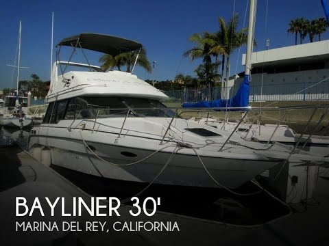 [SOLD] Used 1992 Bayliner 3058 Command Bridge in Marina Del Rey, California