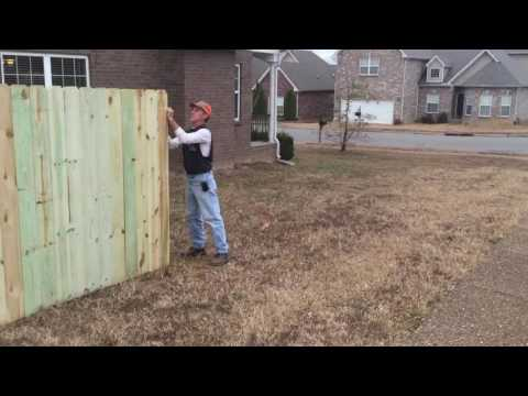 Bryan Fences: 6' Privacy Fence