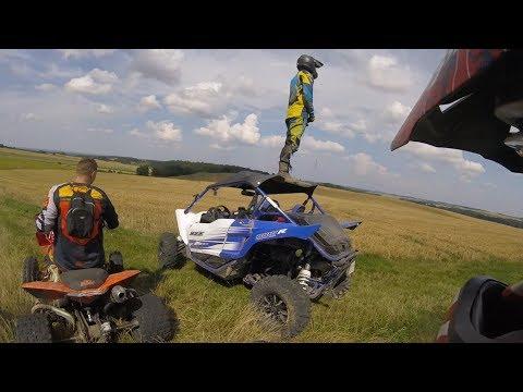 Ścierniska - Gościnnie ATV Szerszenie Kępno - Co potrafi Yamaha YXZ1000R