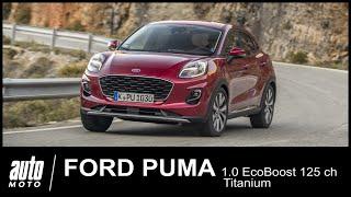 2020 Ford Puma 1.0l 125 ch Titanium Essai Auto-Moto.com