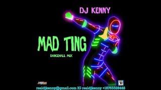 DJ KENNY MAD TING DANCEHALL MIX DEC 2018