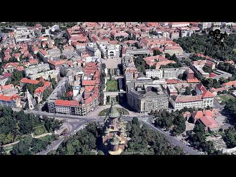 Timisoara, ville du Banat en Roumanie