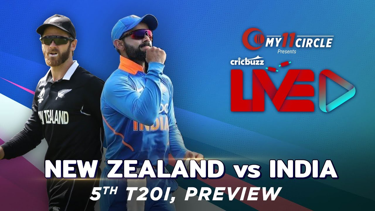 India vs New Zealand 5th T20I LIVE Streaming: When an..D vs NZ in ...