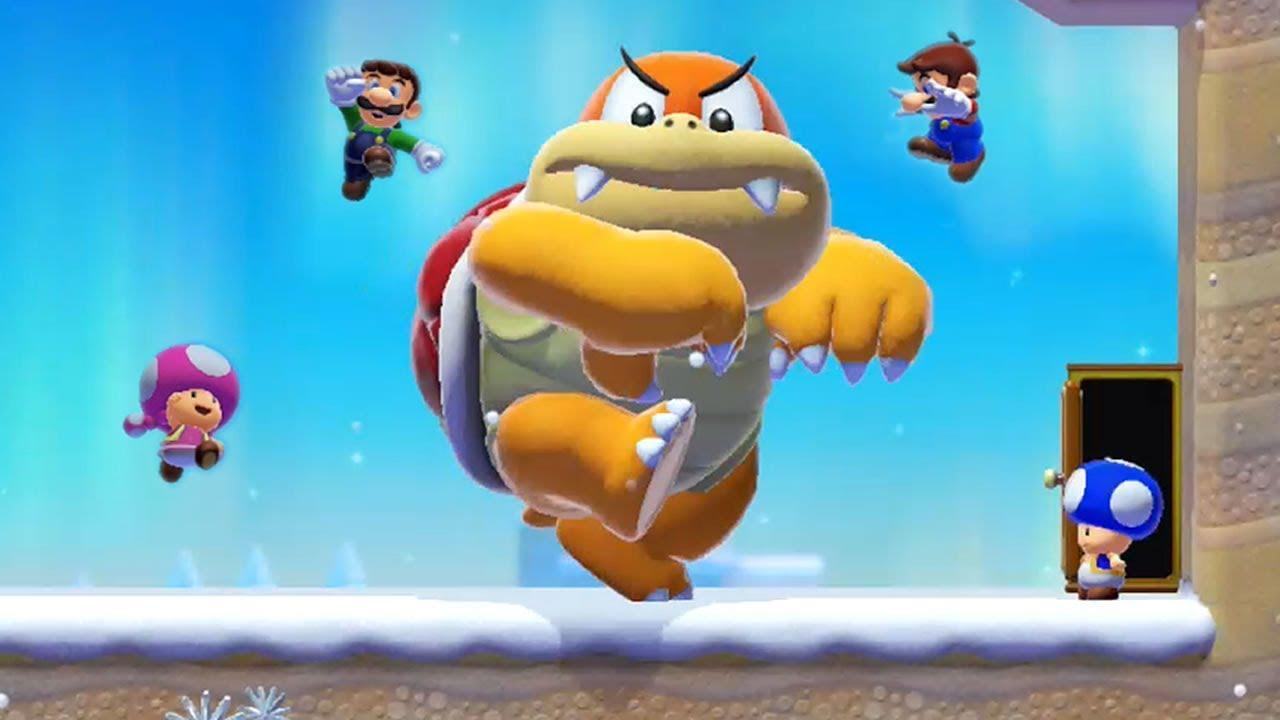 Super Mario Maker 2 - Online Multiplayer Co-op #24
