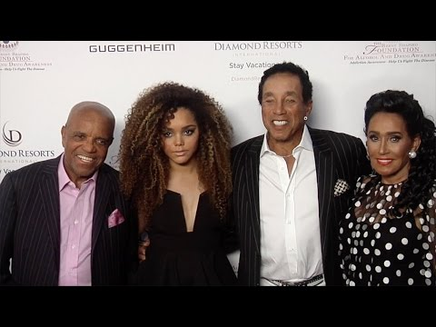 Berry Gordy, Jadagrace, Smokey Robinson // 2015 Summer Spectacular Under the Stars Red Carpet