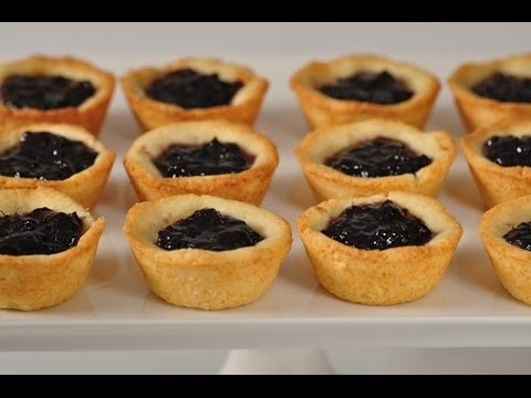 Jam Tarts Recipe Demonstration - Joyofbaking.com
