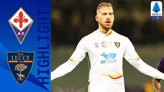 Fiorentina 0-1 Lecce | La Mantia Scores Winner With Diving Header! | Serie A