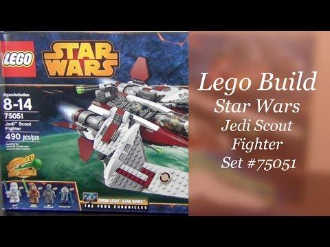 Let's Build - LEGO Star Wars Jedi Scout Fighter Set #75051 - Part #1