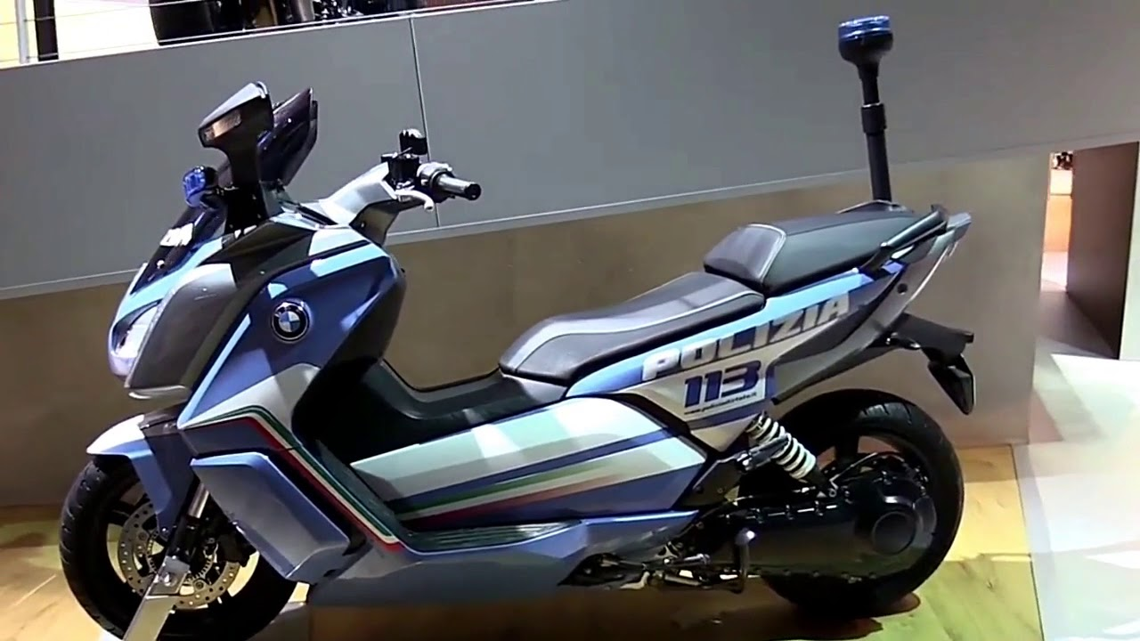 2018 Bmw C Evolution Electric Police Abs Complete Accs Series