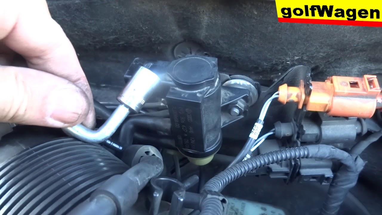 Vw Golf 5 N75 Valve Change Pressure Convertor Turbo Problem 2 1k0 906 627a Fault P0243